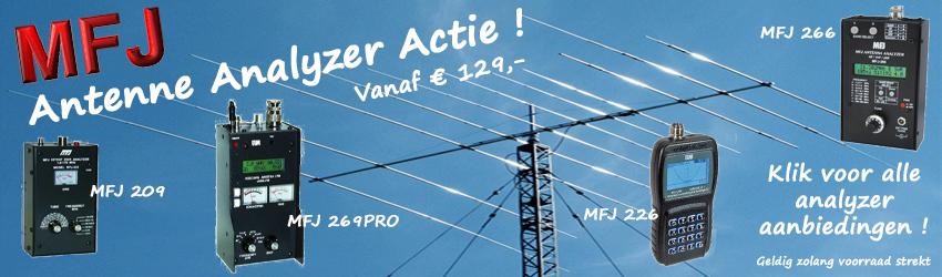 MFJ Antenne Analyzer Actie!