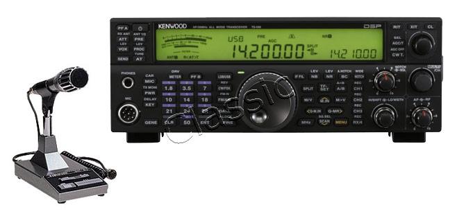 Kenwood TS-590S + MC-60A