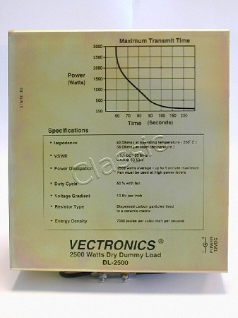 VECTRONICS DL-2500X