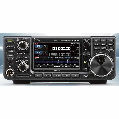 ICOM IC-9700 2m/70/23 All-mode SDR Transceiver - LIVE IN DEMO